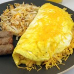 Cheddar Cheese Omelette