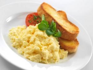 Algharbia farms scrambled eggs recipe